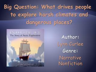 Author:   Lynn Curlee Genre:  Narrative Nonfiction
