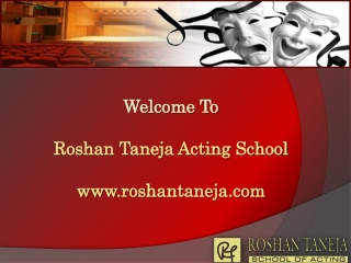 Acting School - Film Acting, Bollywood Acting, Drama School