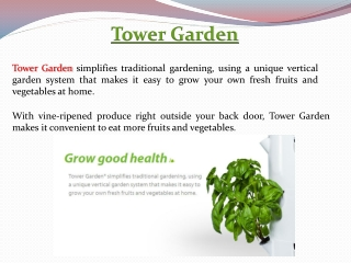 Hydroponic Gardening -  Order Yours Today At  joyharmony.t