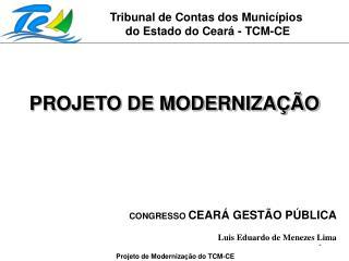 Tribunal de Contas dos Munic pios  do Estado do Cear  - TCM-CE