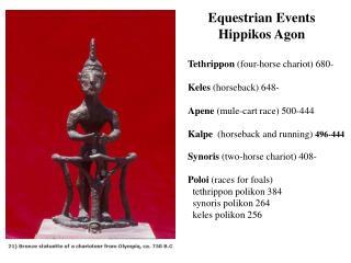 Equestrian Events Hippikos Agon