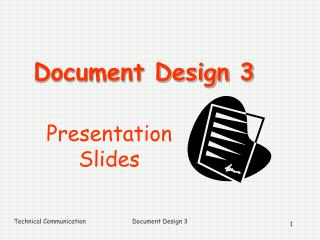 Document Design 3