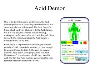 Acid Demon