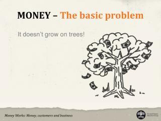 MONEY   The basic problem
