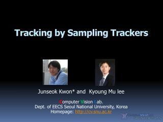 Tracking by Sampling Trackers