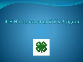 4-H Horsemanship Skills