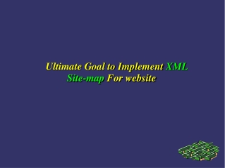 Sitemap Importance into Website