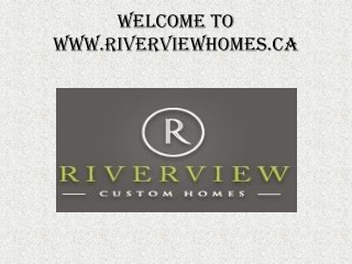 Calgary inner city home builders