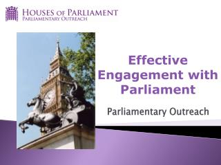 Parliamentary Outreach
