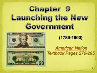 1789-1800    American Nation Textbook Pages 276-295