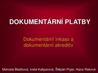 DOKUMENT RN  PLATBY