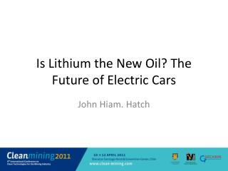 Is Lithium the New Oil The Future of Electric Cars