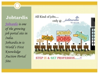 Job Vacancies in Engineering field