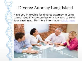 Divorce Attorney Long Island