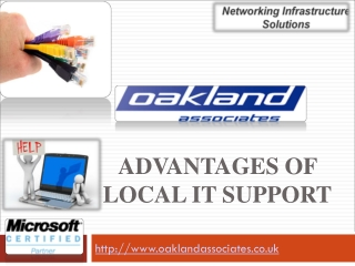 Advantages of local IT support