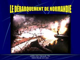 UQ M, EDU 7492  20 : TIC, H l ne Bondil, avril 2001
