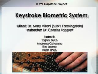 IT 691 Capstone Project