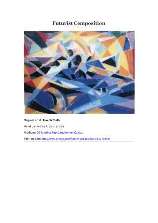 Futurist Composition--Artisoo