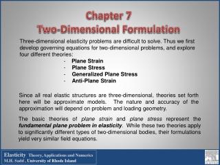 Basic Theories