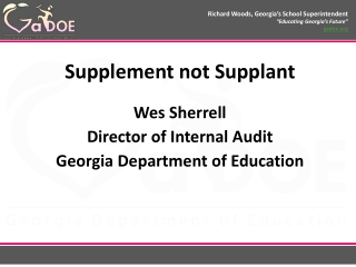 the absent superintendent