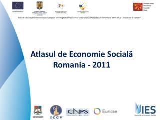 Atlasul de Economie Sociala Romania - 2011