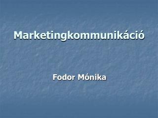 Marketingkommunik ci