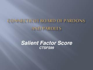 connecticut board of pardons and paroles