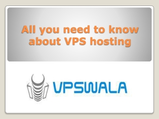 All you need to know about VPS hosting