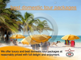 best domestic tour packages