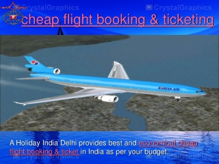 cheap flight booking
