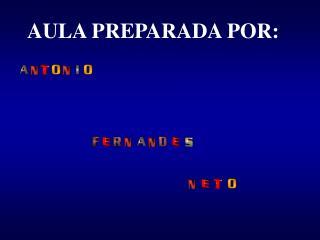 AULA PREPARADA POR: