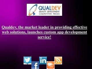 Qualdev, the market leader in providing effective web    sol