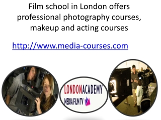 Photography School In London