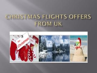 Christmas cheap airfare