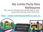 jumping castle hire melbourne
