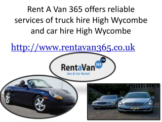 truck hire high wycombe