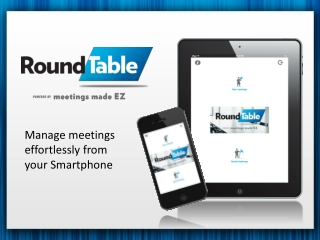 RoundTable APP Powered by Meetings Made EZ