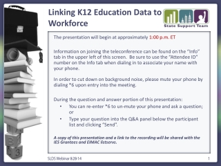 School Workforce Census The New Statutory Data Collection