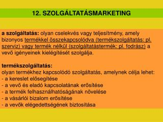 12. SZOLG LTAT SMARKETING