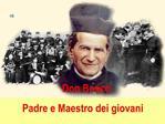 Don Bosco  Padre e Maestro dei giovani
