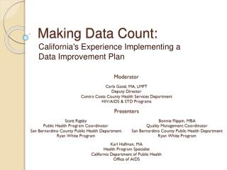 Making Data Count: