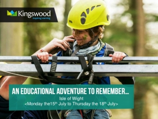 kingswood residential visit   year 10 and year 12