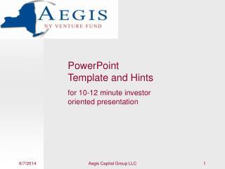 Aegis Capital Group LLC