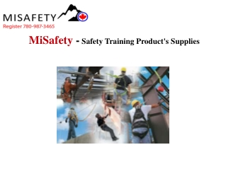 Canada Safety Training Products