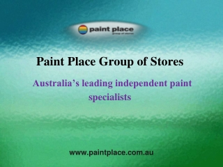 Australia's leading independent paint specialists
