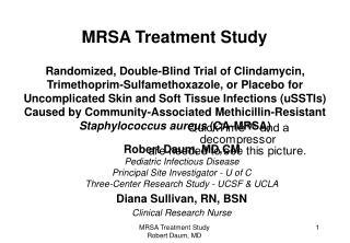 mrsa treatment study