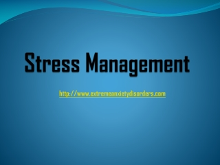 Help Guide for Stress Management