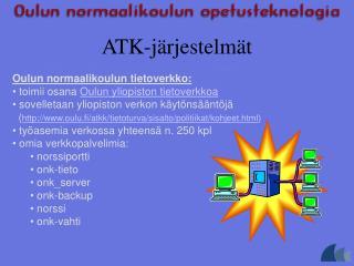 ATK-j rjestelm t