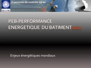 PEB-Performance energetique  DU BATIMENT2010
