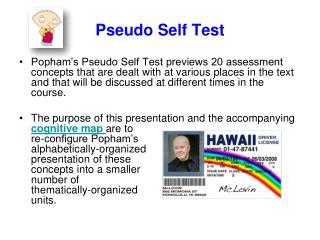 Pseudo Self Test
